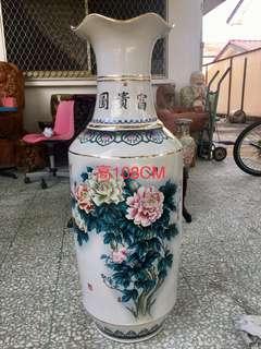富贵图大花瓶