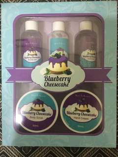 Blue berry Cheesecake Set