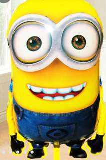 Minion Large Size Inflatable Foil Balloon
