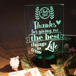 The Best Things in Life - Bedside Lamp LED