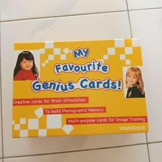 Shichida Favourite Genius Cards