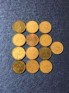 13個加拿大1元🇨🇦7元/個