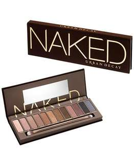 Eye shadow palette: urban decay naked 1