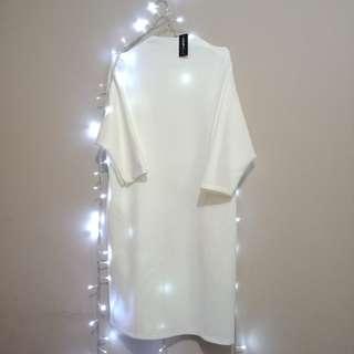 Yamima Dress White - Coup Belle (Berrybenka)