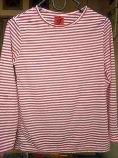 Shirt red stripe