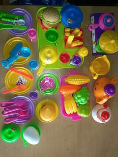 Cooking set toys