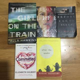 BUNDLE: Bestselling novels
