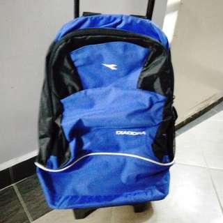 Diadora trolley backpack bag