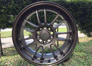 17in PCD 5-114.3 Original Volk Racing RE30 Rims On Offer Sale