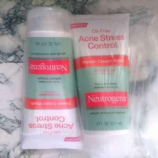 Oil-Free Acne Stress Control Power-Cream Wash