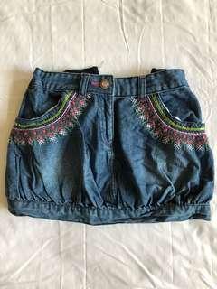 Cool maong skirt for girls