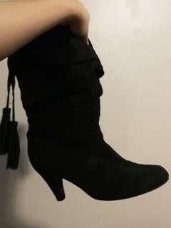 Zara Black Boots
