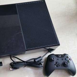Xbox one 500G主機盒裝