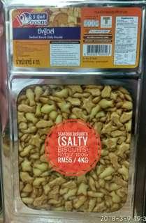 Biskut salty fish