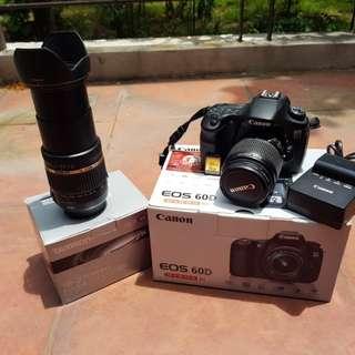 Canon 60D Kit + Tamron 18-270mm PZD