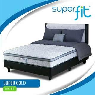 Super Fit Spring Bed Bebas Bunga Tanpa Dp Proses Cepat