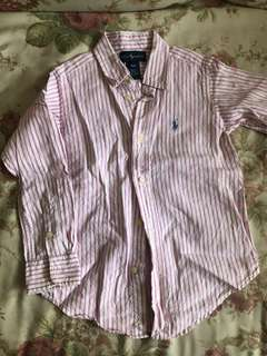 Ralph Lauren Boys Linen Shirt