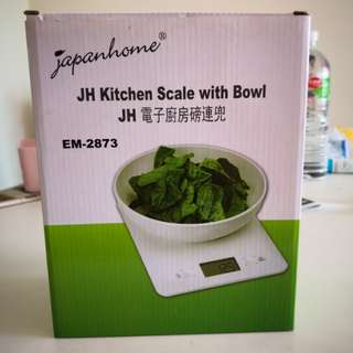 JH Kitchen Scale with Bowl JH 電子廚房磅連兜