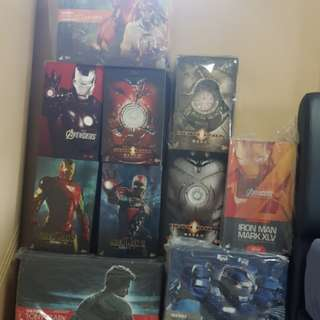 Hot toys iron man bundle