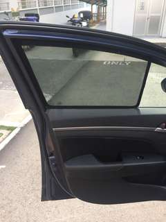 Elantra 6th gen Magnetic sunshades