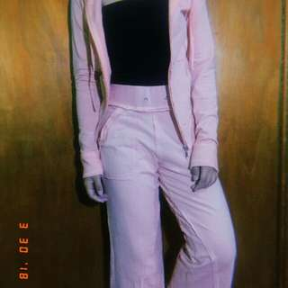Pink jacket and pants (partner)