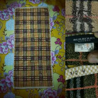 Mini towel burberry