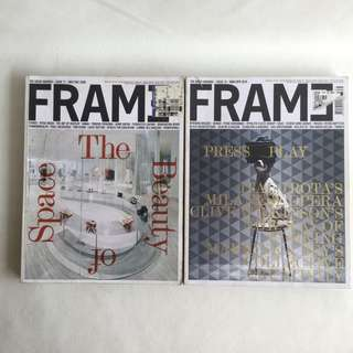 Preloved design magazine: FRAME