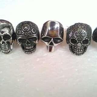 Skull ring /cincin