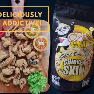 Chicken Skin Salted Egg