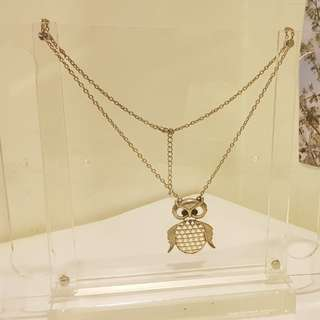 Necklace(owl)set of 2