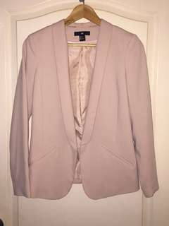 H & M Tailored Beige Coat