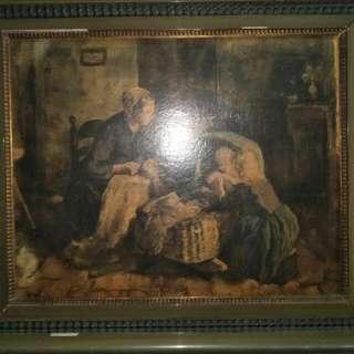 欧美小名家油画(供赏)86218574