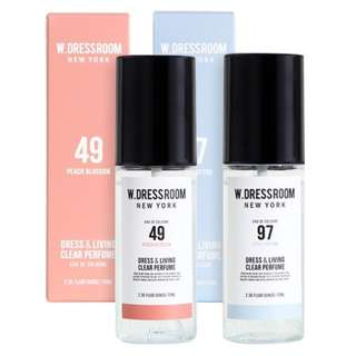 W.Dressroom New York Dress & Living Clear Parfum Korea 100% Original 70ml