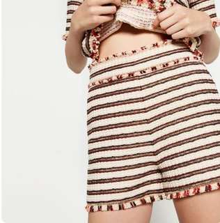 💕REPRICED💕💯Authentic Zara Frayed Hem HW Shorts