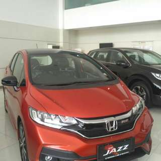 Honda jazz Rs manual 2017 diskon besar