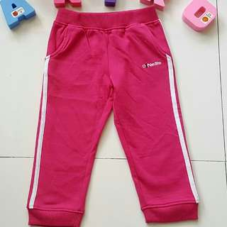 Pink jogging pants like new