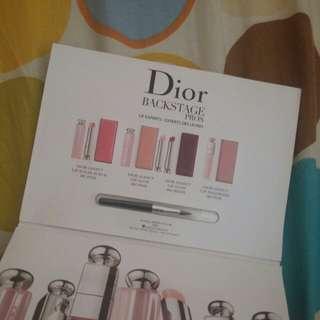 全新Dior Backstage潤唇膏4色試用裝