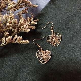 Darcy Heart-shaped Earrings
