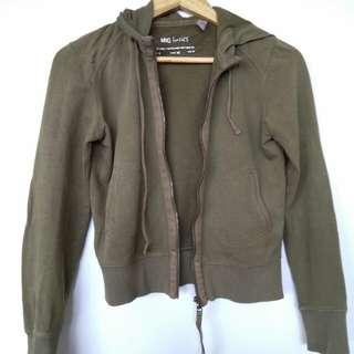 MNG front zip hoodie
