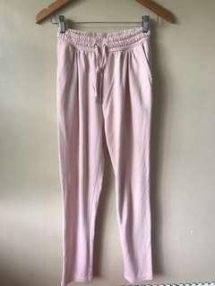 Preloved H&M blush trouser