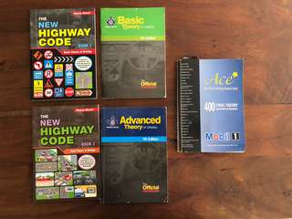 Driving books - Basic and Advanced Theory