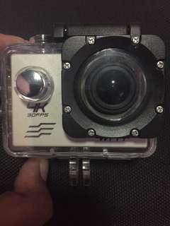 Camera 4K underwater