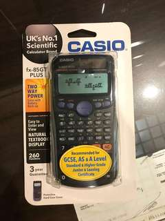 (New condition) Scientific Calculator Casio fx-85GT PLUS