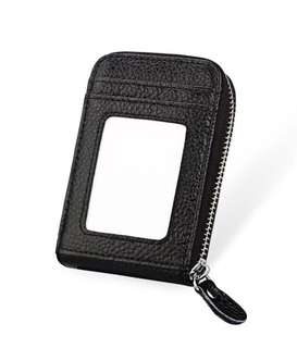 Black card wallet