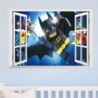 💥Lego Batman wall decal / party backdrop/ wall stickers / Home deco