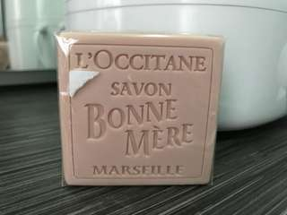 Loccitane rose soap
