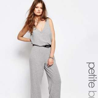 2 in 1 Wide Leg Jumpsuit