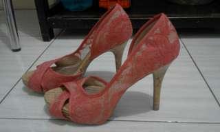 sendal & sepatu high heels