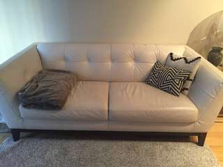 Natuzzi leather couch