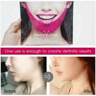 Avajar Perfect V Lifting Premium Mask Masker Pembentuk Wajah Korea 100% New Original